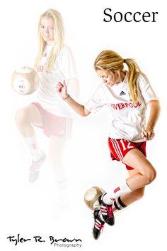 cute soccer pose