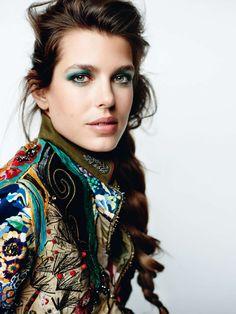 Charlotte Casiraghi: Vogue Paris 2015 -05 - GotCeleb
