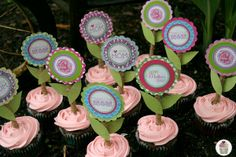 Mother's Day Cupcake Topper Printables from @Charlotte Brodt (The Paper Cupcake) FREE