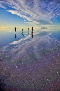 Bolivia's Salar de Uyuni Salt Flat -