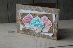 Blog Hop Cupcake für dich, Bild3,  gebastelt mit Produkten von Stampin' Up!
