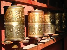 Prayer Wheels - Tibet