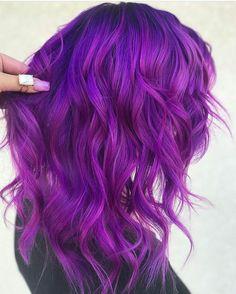 Purple Wig Best Hair Color For Women Purple Hair Wax – porjack Bright Purple Hair, Vivid Hair Color, Hair Color For Women, Lilac Hair, Hair Color Purple, Hair Dye Colors, Cool Hair Color, Purple Wig, Dye My Hair
