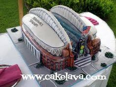 cakelava: Seattle Seahawks Stadium Groom's Cake
