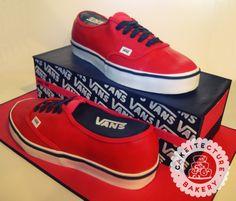 Vans Shoe Cake