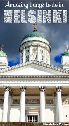 Helsinki has a lot t
