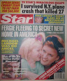 Star Magazine 4-7-1992. Princess Sarah Ferguson!