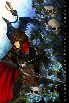 Space Pirate Captain Harlock by Erika 404