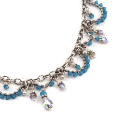 Jeweled Wave Bracelet