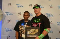 """On the eve of the Super Bowl of wrestling, John Cena was getting his motivation from a special group of kids. Cena surprised 31 kids from Make-A-Wish during a pizza party on Saturday, the day before WWE's WrestleMania 30 at the Mercedes Benz Superdome in New Orleans. """"To meet John Cena, it was pretty cool,"""" […]"""