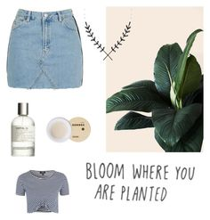 """BLOOM 🌺"" by amsbullock on Polyvore featuring Topshop, Korres and Le Labo"