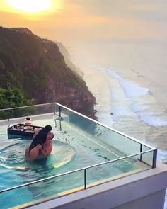 ★★★★★ The Edge Bali, Uluwatu, Indonesia Vacation Places, Vacation Destinations, Dream Vacations, Bali Travel, Luxury Travel, Flipagram Instagram, Poses Photo, Villa With Private Pool, Living On The Edge
