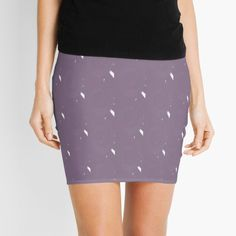 Mauve, Lilac, Pattern Design, Mini Skirts, Printed, Awesome, Fashion Design, Art, Products
