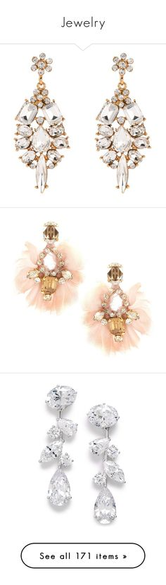 Jewelry by cassiedope on Polyvore featuring polyvore, women's fashion, jewelry, earrings, brincos, white, white jewelry, earrings jewelry, white earrings, accessories, gioielli, jewellery wbearrings, womenswear, wing earrings, bullet earrings, paula bianco, oversized jewelry, orecchini, silver, cubic zirconia earrings, sparkly earrings, sparkle jewelry, cz jewelry, nadri jewelry, brinco, joias, alexia crawford, cut out earrings, gold tone chandelier earrings, cut out jewelry, goldtone…