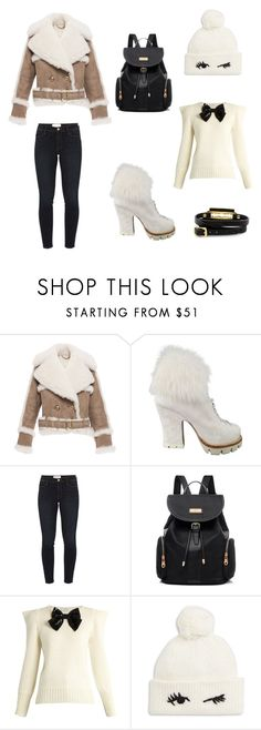 """""""Bez naslova #5"""" by ella-tursunovic ❤ liked on Polyvore featuring Burberry, Prada, Frame Denim, Yves Saint Laurent, Kate Spade and McQ by Alexander McQueen"""