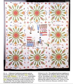 Susan Robb's quilt, 1860s   Collection of the Texas Tech University Museum, Lubbock, Texas   made in Chicot County, Arkansas   One of ...