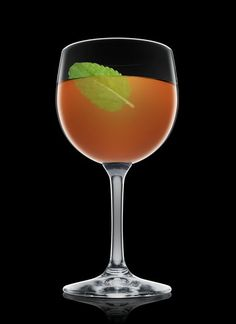Chai Toddy - Add all ingredients into a wine glass. Garnish with mint ...