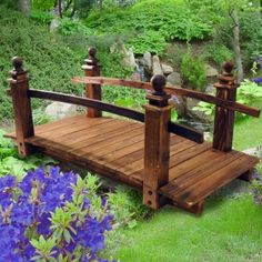 Merveilleux MYKMOTO   Burntwood 4 Foot Ornamental Garden Bridge  Http://www.watsonsontheweb.