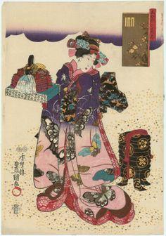 Utagawa Kunisada香蝶楼豊国