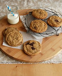 Amaranth choc chip cookies / Cookies com gotas de chocolate e farinha de amaranto by Patricia Scarpin, via Flickr