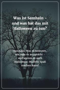Samhain und seine Bedeutung - kurz und einfach erklärt