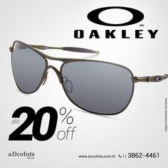 Óculos de Sol Oakley com até 20% com desconto Compre pelo site em até 10x Sem Juros e Frete Grátis nas compras acima de R$400,00 reais. 👉 www.aoculista.com.br/oakley #aoculista #oakley #glasses #sunglasses #eyeglasses #oculos