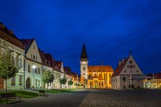 Bardejov - UNESCO World Heritage sight #Slovakia Heart Of Europe, Shutter Speed, Explore, Mansions, Country, World, House Styles, Places, Nature