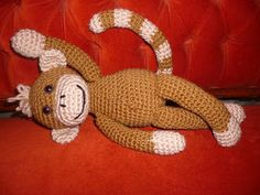 MYA CROCHET: Monkey