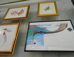 """Check out new work on my @Behance portfolio: """"Exhibition  in Qul Sharif mosque """"My family's shamail"""""""" http://on.be.net/1HWqRnO"""