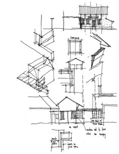 Bob Borson from 'Life of an Architect' #architecture #sketches