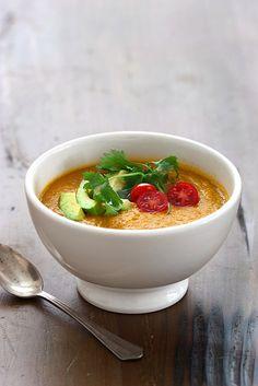 raw vegan tortilla soup.