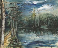 The Pond in Forest. Maurice de Vlaminck