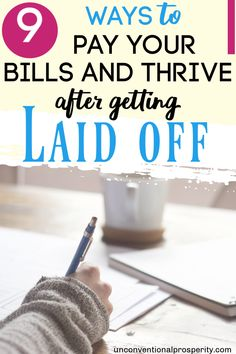 We have a guest post for you today from our friend Logan. Getting laid off from work can be extremely stressful. Here are 9 ways to pay your bills if you get laid off! Earn Extra Money Online, Earn More Money, Ways To Earn Money, Make Money Fast, Make Money From Home, Money Tips, Money Saving Tips, Money Hacks, Online Side Jobs