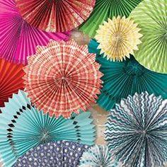 Colorful Rosettes