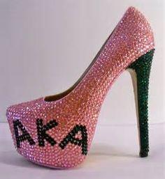 Www Etsy Com Listing 197666920 Alpha Kappa Alpha Heels Sorority Pumps