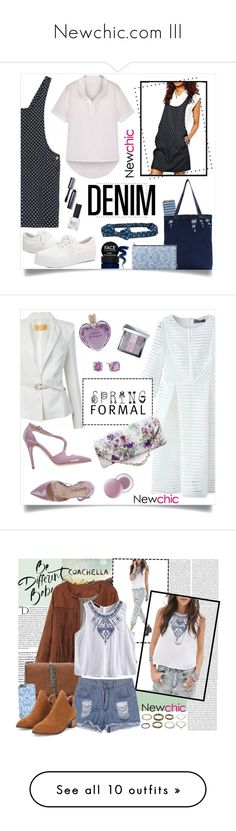 """""""Newchic.com III"""" by by-jwp ❤ liked on Polyvore featuring Aéropostale, Topshop, Bobbi Brown Cosmetics, FACE Stockholm, newchic, Eliana Bucci, It's skin, Vera Wang, CZ by Kenneth Jay Lane and Oris"""