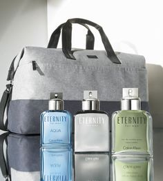 An unforgettable collection of  timeless scents, Calvin Klein ETERNITY for men