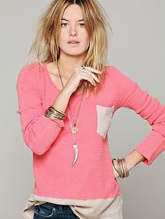 Free People We The Free Double Time Thermal