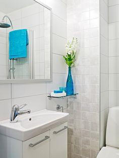 Como as residências em geral estão mais pequenas é comum que os banheiros também estejam menores, sendo assim é ainda mais essencial dar a eles uma boa dec