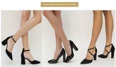 Modele de pantofi cu toc gros Heels, Fashion, Heel, Moda, Fashion Styles, High Heel, Fashion Illustrations, Stiletto Heels, High Heels