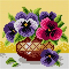 cm Orchidea Baskılı Goblen Kit 5003 - My site 123 Cross Stitch, Cross Stitch Fruit, Cross Stitch Pattern Maker, Cross Stitch Kitchen, Beaded Cross Stitch, Crochet Cross, Cross Stitch Flowers, Cross Stitch Charts, Cross Stitch Designs