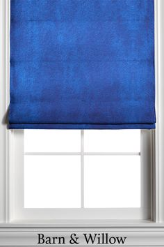 This custom velvet window shade is hand-stitched by expert hands and adds a touch of texture and style to any room. Custom Roman Shades, Window Coverings, Velvet, Hands, Windows, Curtains, Touch, Texture, Room