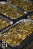 kuchnia w czekoladzie: Holenderski kebab z pieczarkami- Kapsalon