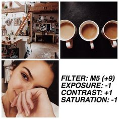 Discover recipes, home ideas, style inspiration and other ideas to try. Best Vsco Filters, Insta Filters, Free Vsco Filters, Photography Filters, Photography Editing, Vsco Photography Inspiration, Vsco Gratis, Filters For Pictures, Foto Filter