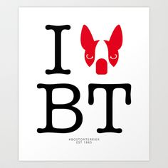 I ♥ BOSTON TERRIER