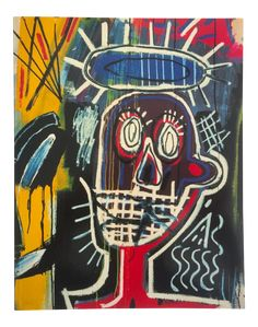 This rare 1996 Whitney Museum of American Art retrospective exhibition collector's art book of the world famous American artist Jean Michel Basquia. Jm Basquiat, Jean Michel Basquiat Art, Whitney Museum, Price Sticker, American Artists, Art Lessons, Art Inspo, The Help, Book Art