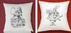 Image from http://i156.photobucket.com/albums/t23/skimbaco/home-decorating/alice-wonderland-pillows.jpg.