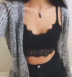 boho/bralet/knit/high waisted