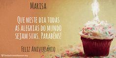 Encontre sua Mensagem para Marisa no Cartão de Feliz Aniversario. Acesse gratuitamente, escolha a imagem e a frase para enviar no Facebook, WhatsApp, Email e Tumblr.
