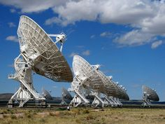 Fans of the movie Contact will recognize the Very Large Array, a massive radio telescope facitilty located  50 miles west of Socorro, New Mexico. The site is open for self-guided tours from 8:30 am to sunset. On the first Saturday of each month, the facility holds free guided tours at 11:00 am, 1:00 pm and 3:00 pm. No reservations are required for the guided tours, which run 30 minutes.